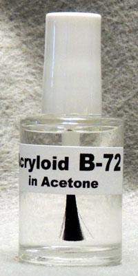 Paraloid Formerly Acryloid B 72 In Acetone Northern